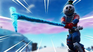 New SLUSHY SOLDIER Skin & ICICLE Pickaxe on Fortnite!