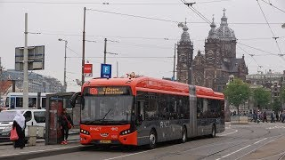 Connexxion introduceert elektrische bussen in Amsterdam