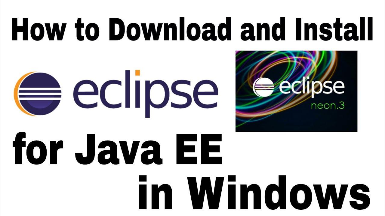 descargar eclipse neon para windows 10