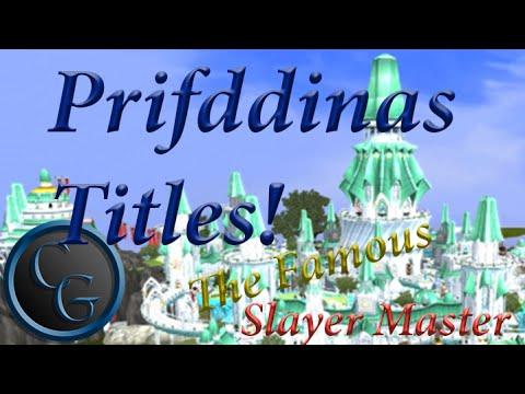Prifddinas Titles Guide Runescape Youtube