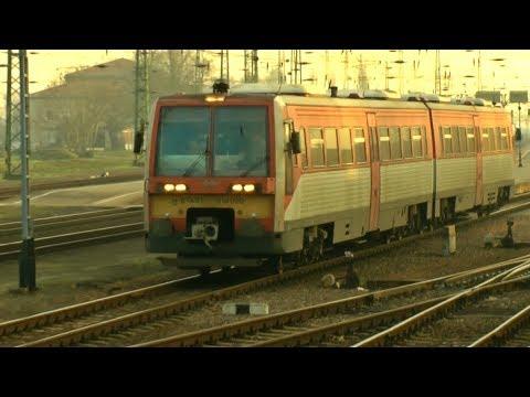 Vonatok Hatvanban 2015 december 22-én / Trains in Hatvan / Züge in Hatvan