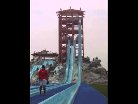 The Big Slide at Iceland Waterpark