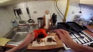 Свинина пряная в тесте