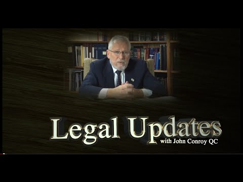 Legal Update With John Conroy Aug 2014
