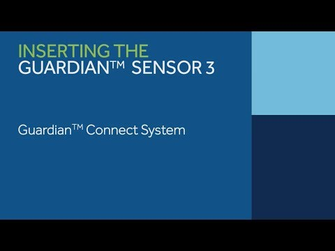 Inserting the Guardian™ Sensor 3