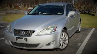 2008 Lexus IS250 AWD | Complete Walk-around a Features Overview