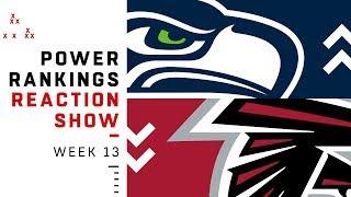 NFL Power Rankings Week 13 Reaction Show: New Top 10 Team | NFL