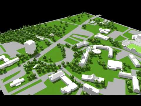 Jacksonville State University 3d Campus Map Youtube