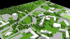 Jacksonville State University, 3D Campus Map