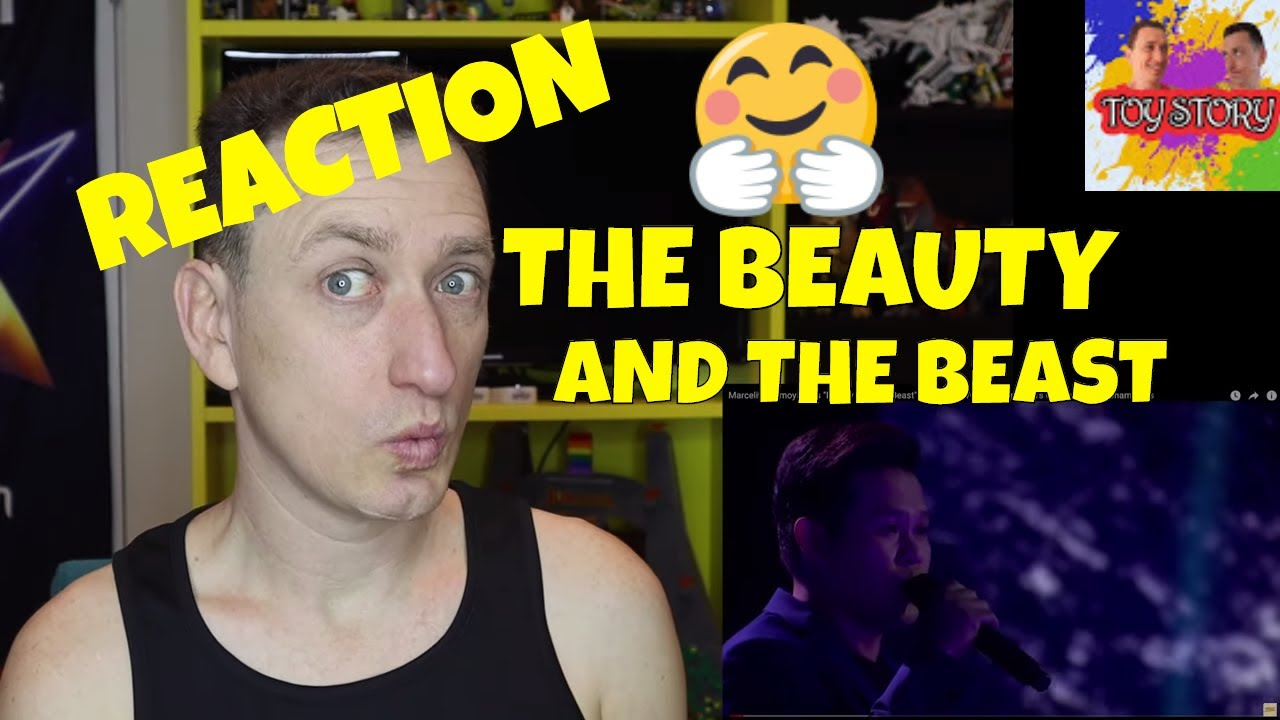 Marcelito Pomoy - The beauty and The beast - REACTION