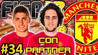 FIFA 17 Manchester United Modo Carrera #34 | POGBA SE VA AL MAXIMO RIVAL EL CITY | CON PARTNER