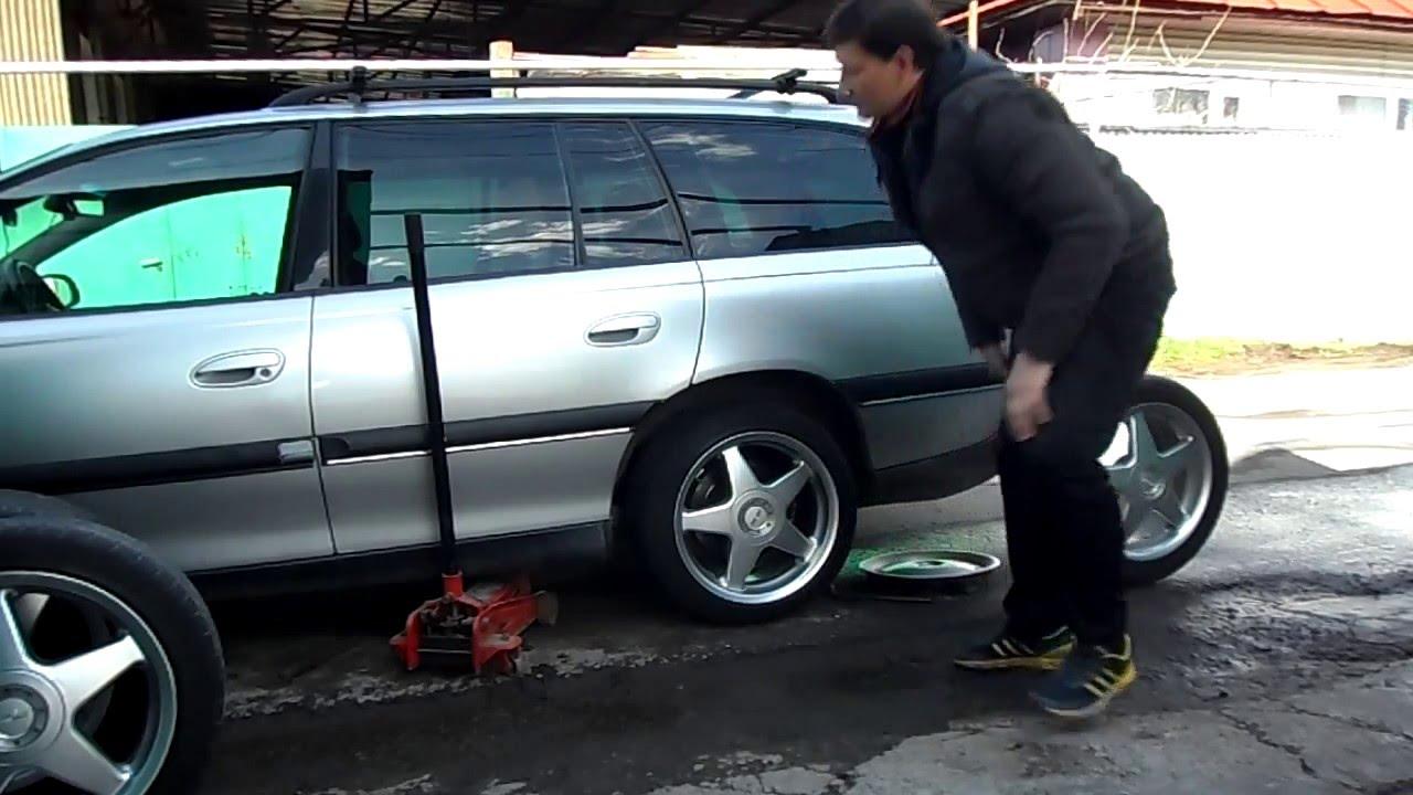 Форд Транзит замена шаровых и задних ступиц - YouTube