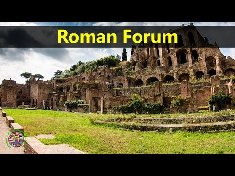 Best Tourist Attractions Places To Travel In Italy | Roman Forum Destination Spot