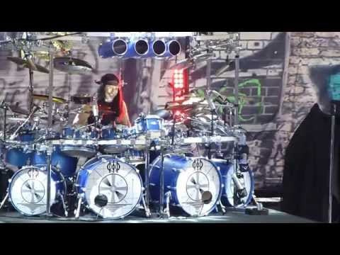 Dream Theater / Enigma Machine ~ Mike Mangini Drum Solo, Gelsenkirchen, 19th July, 2014