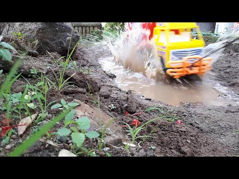 Main Truk Box Pengangkut Barang #5 || Car Wash Truck || Dunia Anak || Video For Kids