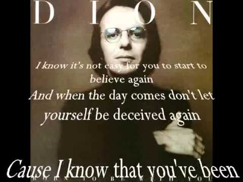 Dion-Only you know with Lyrics