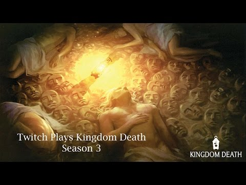 Twitch Plays Kingdom Death - S3 - Year 5 (Manhunter & Flower Knight)