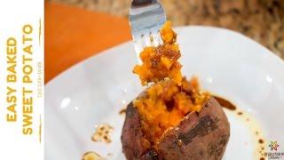 Sweet Potato with Balsamic Sauce