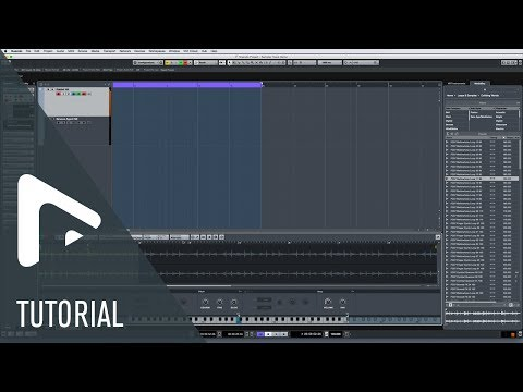 Sampler Track | New Features in Nuendo 8