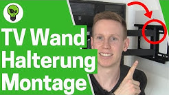 TV Wandhalterung Anbringen ✅ TOP MONTAGE: Wie Fernseher mit Halterung Ricoo R23 an die Wand Hängen?