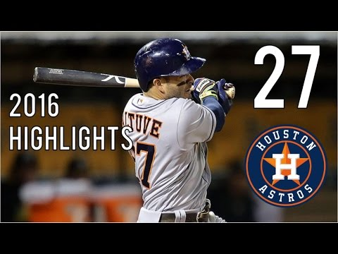 Jose Altuve | 2016 Highlights