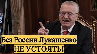Жириновский дал ПРОГНОЗ по Белоруссии и Лукашенко! Срочно!
