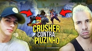 X1 CRUSHER FOOXI VS PIUZINHO - FREE FIRE