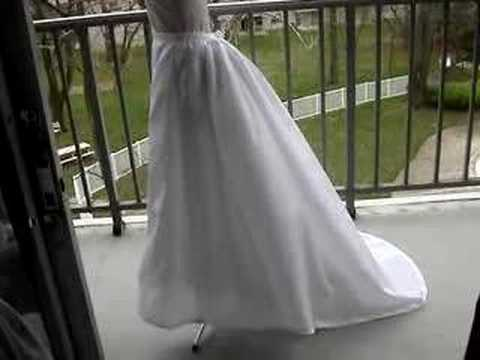 how to make a bustle petticoat