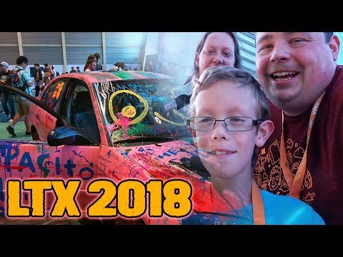 Barnacules Family Attends LTX 2018 Tech Expo - LinusTechTips