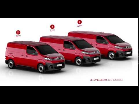 Nouveau Citroën Jumpy - 3 longueurs disponibles - YouTube