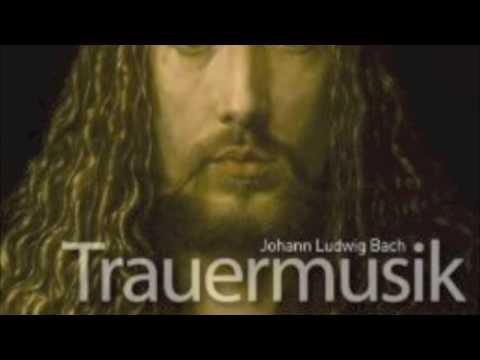 J.L. Bach (1677-1731): 'Trauermusik' - IX. Tutti,
