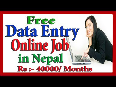Online Job in Nepal - Earn 100 Dollar Everyday From Data Entry