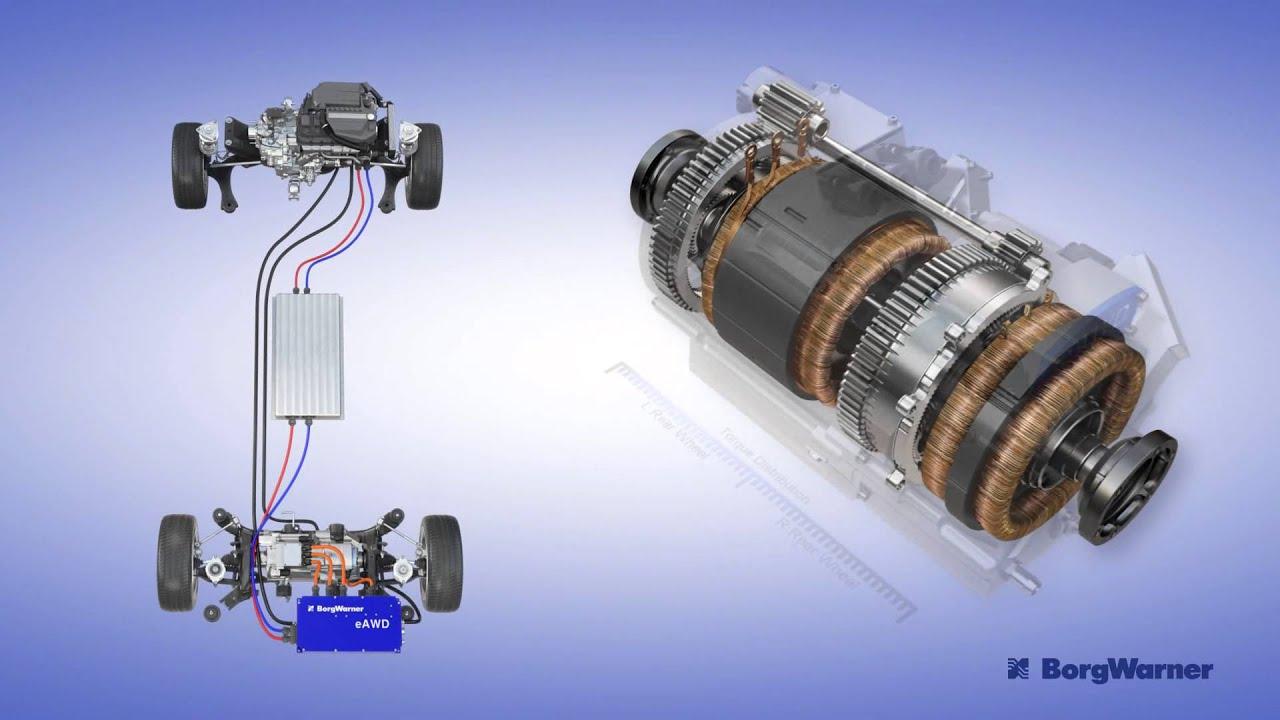 Torque Vectoring Electric Drive Module Youtube
