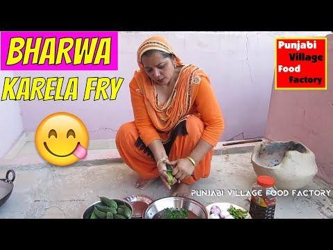 Deep Fry Karela Recipe 💖 Stuffed Karela Recipe 💖 Bharwan Karela Recipe 💖 Punjabi Karela Recipe