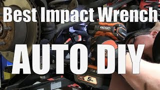 Choosing Your First Battery Impact Wrench for DIY Automotive Work