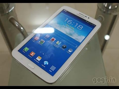 Samsung Galaxy Tab 3 7-inch Preview - YouTube