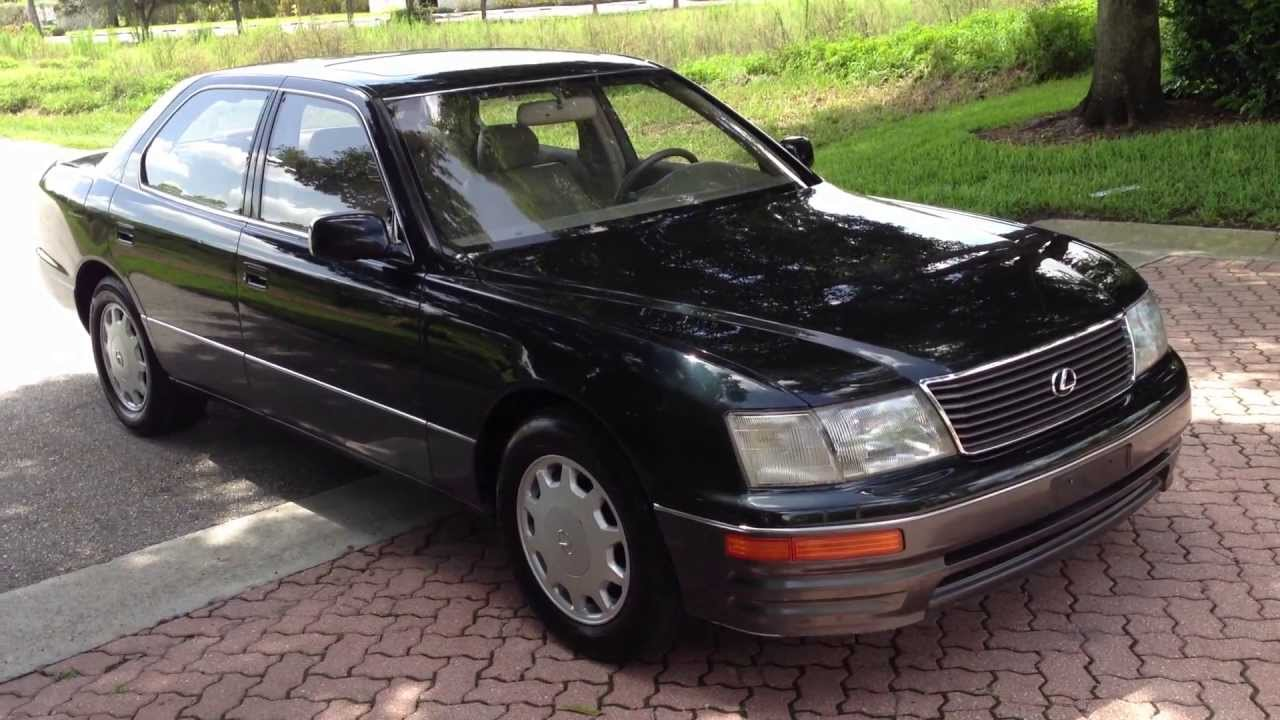 medium resolution of 1995 lexus ls400 view our current inventory at fortmyerswa com youtube