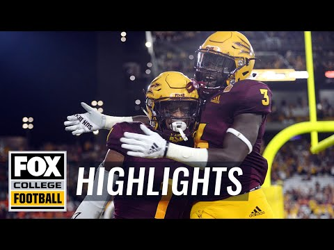 Arizona State vs UTSA | FOX COLLEGE FOOTBALL HIGHLIGHTS