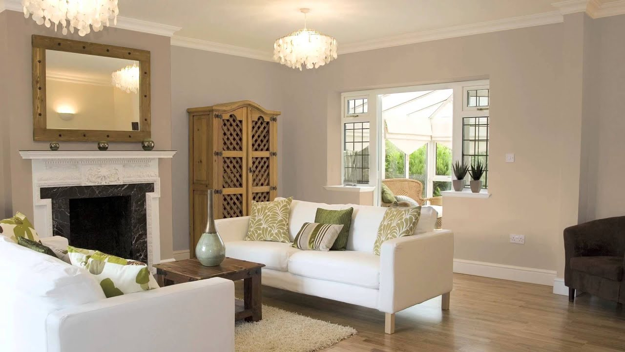 how to use dark & light shades of one color to paint a room