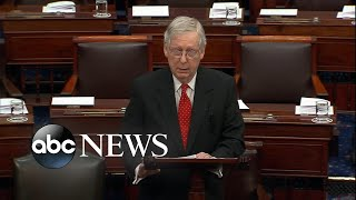 McConnell delivers opening impeachment statement