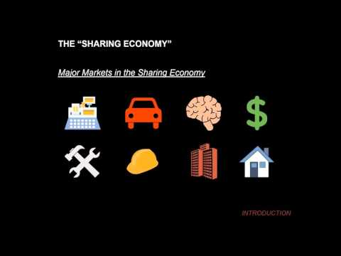 """The New """"Cottage"""" Industry:  Housing, Lodging, and the Sharing Economy"""
