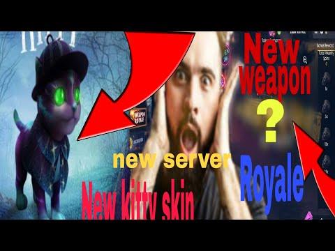 #freefire#newweaponeroyale#newskin  Free fire new weapon Royale ,new kitty skin ,new advanced server