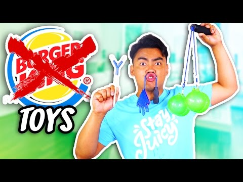 Thumbnail: 10 REJECTED BURGER KING TOYS!