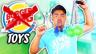 Repeat youtube video 10 REJECTED BURGER KING TOYS!