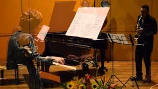 Stivens Ricaute Vieira - saxofonista -Blanca Uribe - Piano - León Cardona melodía triste