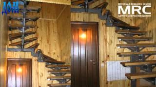 Металлическая однокосуорная лестница. Metallic Stairs(Спиральная и Маршевая одно - косоурные лестницы, сборный каркас лестниц изготовлен на производстве из черн..., 2011-04-12T09:40:50.000Z)