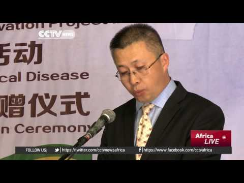 China donates cervical cancer screening equipment worth $50,000