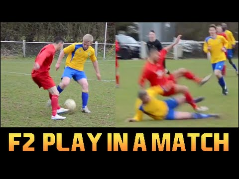 F2Freestylers Play in a real Match!