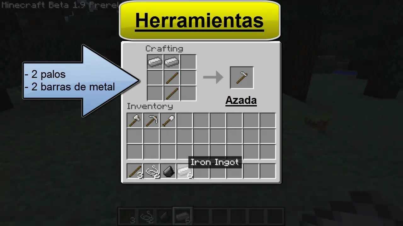 Como crear todos los objetos basicos de Minecraft | Thedementoor ...