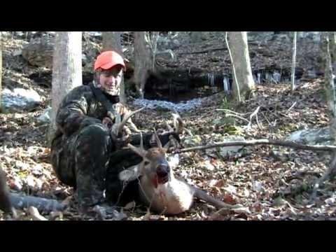 Drop tine Buck Kill Jackson County Alabama Mountains
